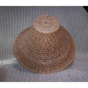 #5 Red Cedar Bark Hat by Dorcas Bell White