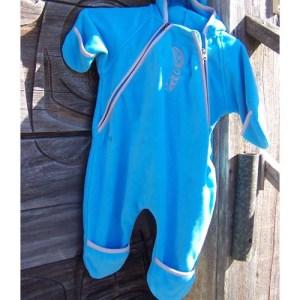 Toddler Fleece Jump Suit Baby Raven Eagle by Cooper Wilson