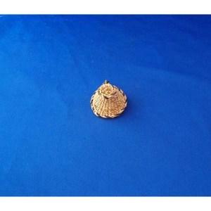 Yellow Cedar Pendant by Dorcas Bell White