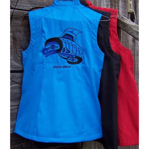 Blue Vest Kille Whale by Cooper Wilson