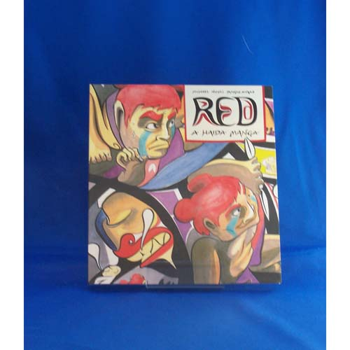 Book-Red A Haida Manga