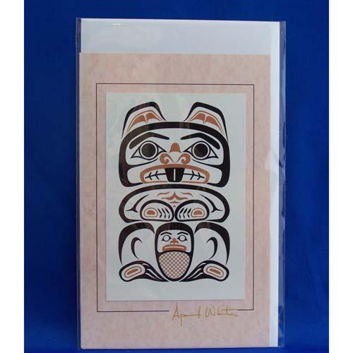 Card Beaver 2 by April White