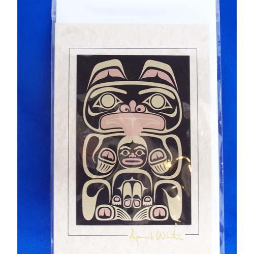 Card-Bear 3 by April White
