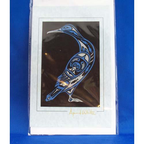 Card-Cormorant 3 by April White