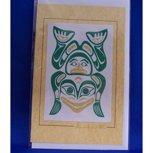 Card-Frog Pince 2 by April White
