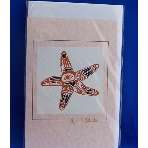 Card-Raven Star 2 by April White