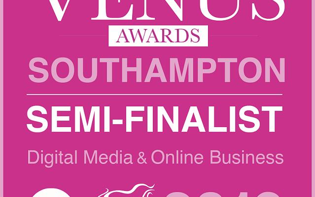 I'm a Venus Awards Semi-Finalist!