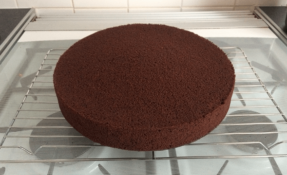 Large Chocolate Madeira Cake