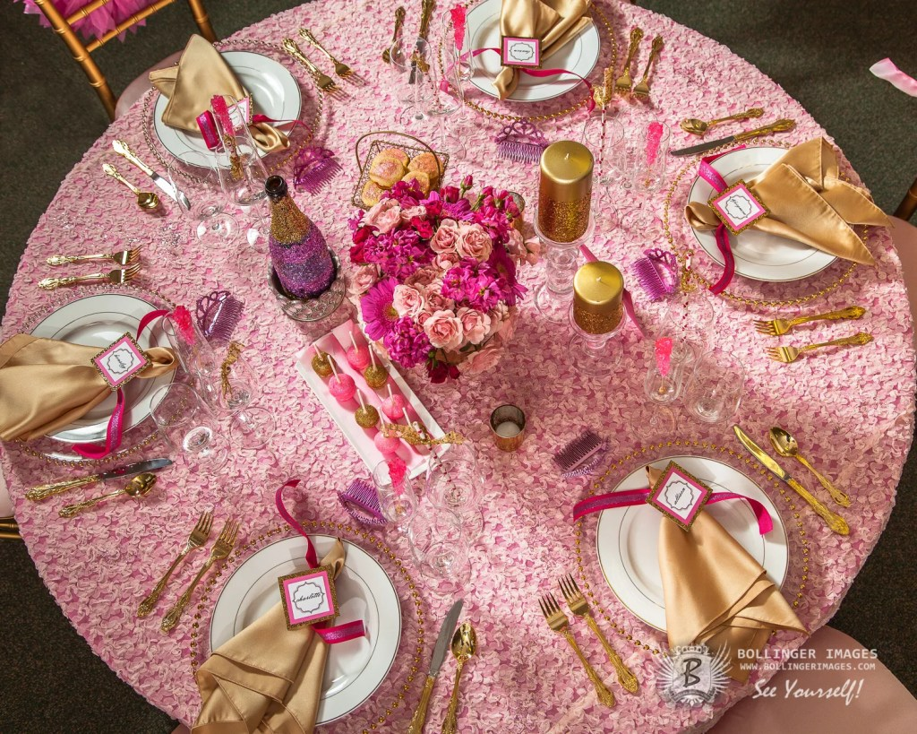 Pink + Gold Glam Bridal Shower Sarah Sofia Productions