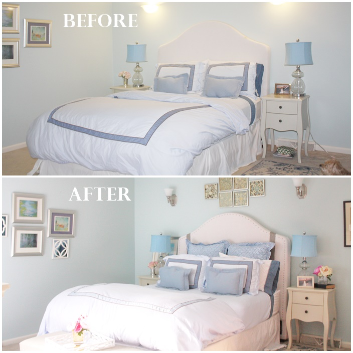 Master Bedroom Reveal via Sarah Sofia Productions