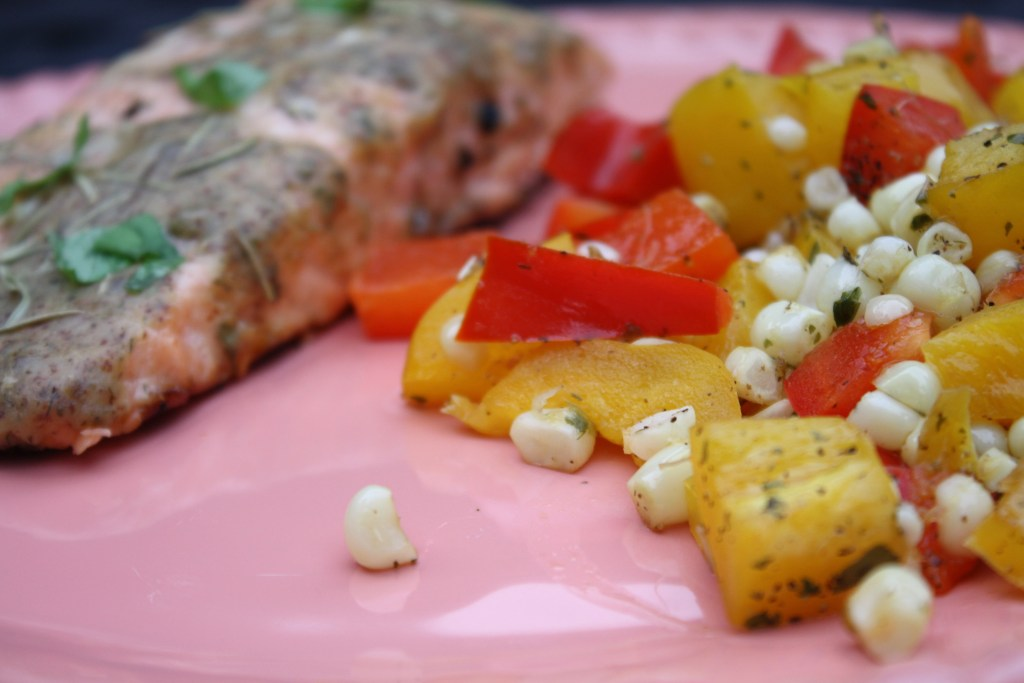 Healthy Summer Grilling Ideas: Grilled Salmon || Sarah Sofia Productions