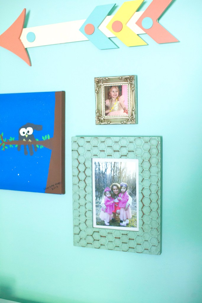 Coral and Robin's Egg Blue Big Girl Room || Sarah Sofia Productions