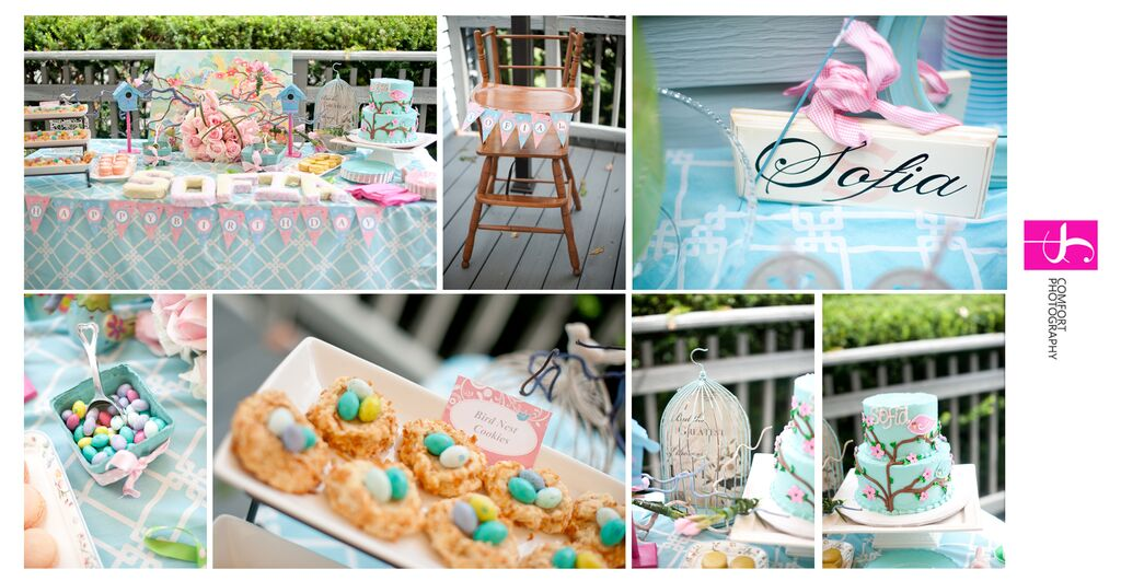 Cherry Blossom and Birds Themed Party Sarah Sofia Productions