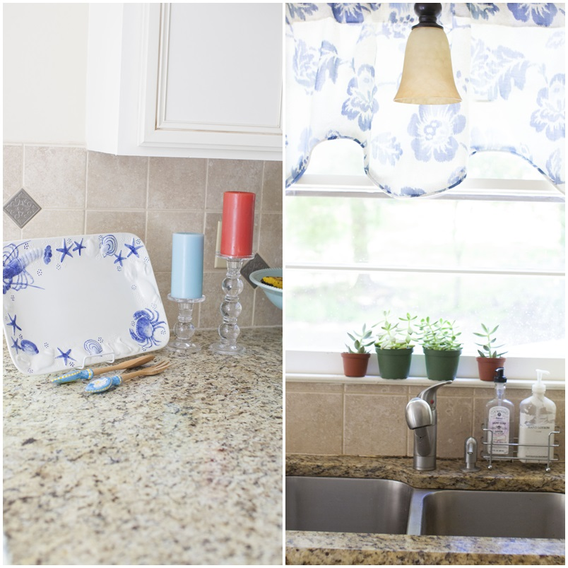 Kitchen Blue and White Makeover ||Sarah Sofia Productions