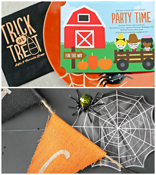 Halloween Costume Hayride Party Tiny Prints | Sarah Sofia Productions
