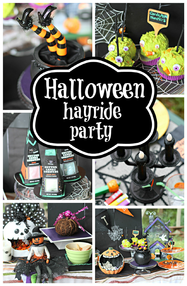 Halloween Costume Hayride Party | Sarah Sofia Productions