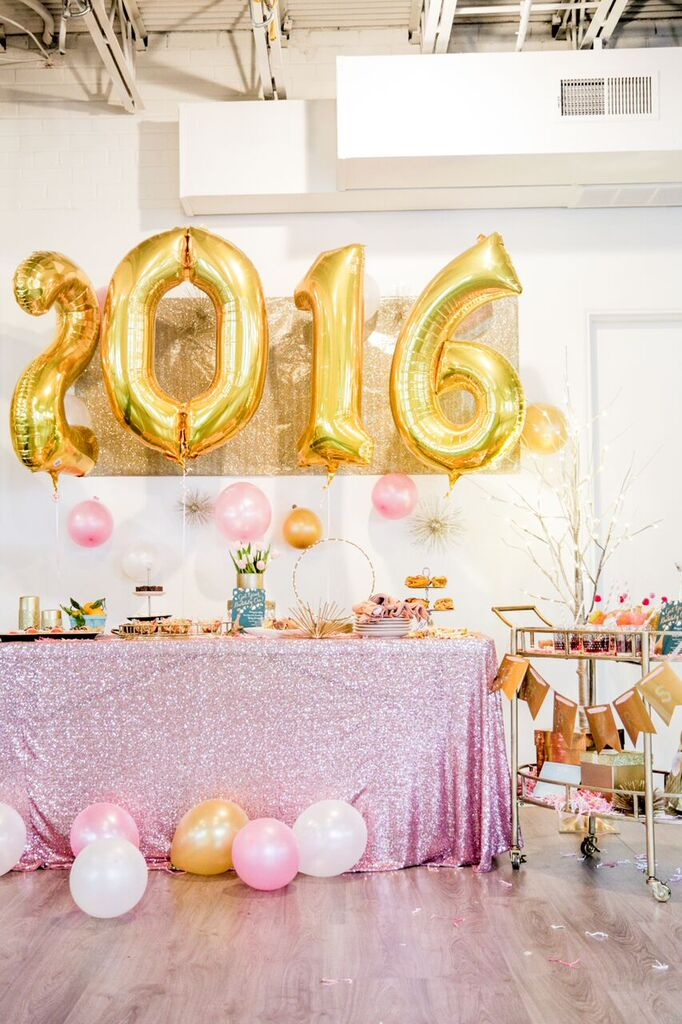 New Years Eve & New Years Day Brunch Inspiration || Sarah Sofia Productions