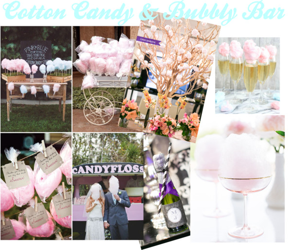 Cotton Candy and Bubbly Bar Inspiration