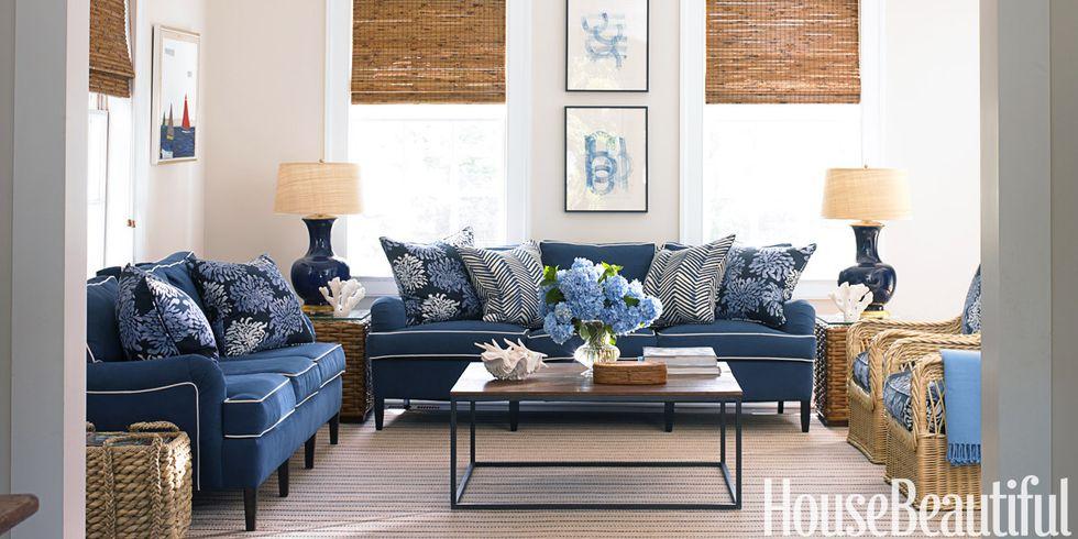 Family Room Refresh Inspiration via Sarah Sofia Productions