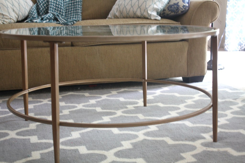 Family Room Refresh Coffee Table via Sarah Sofia Productions