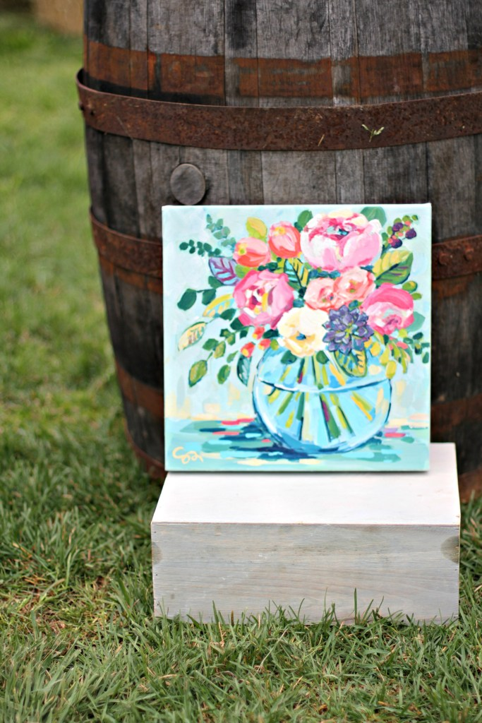 Floral Painting Giveaway via Sarah Sofia Productions
