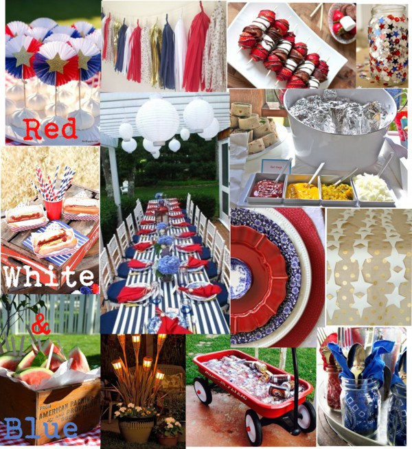 Red White and Blue Party Inspiration via Sarah Sofia Productions
