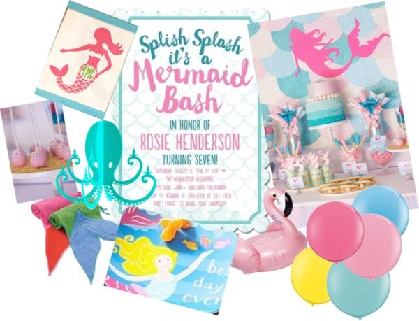 Mermiad Bash Party Inspiration via Sarah Sofia Productions