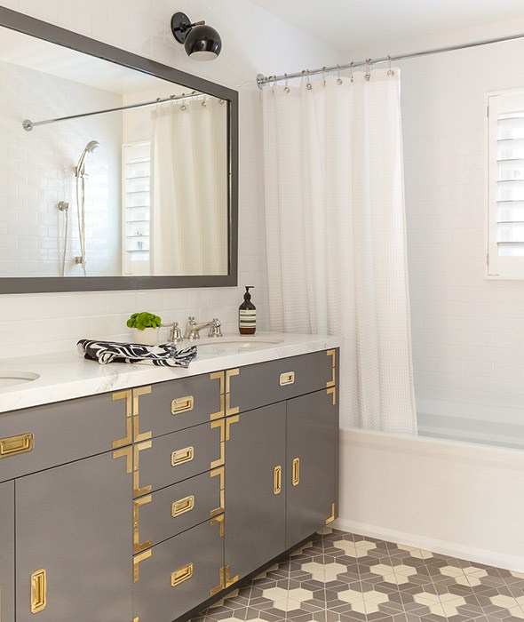 Bathroom Refresh Inspiration via Sarah Sofia Productions
