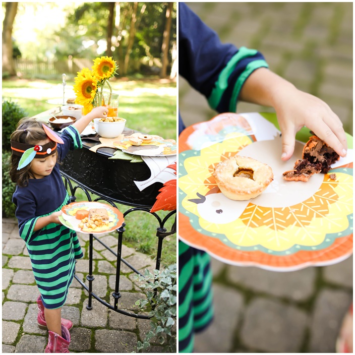 Kids Thanksgiving Party via Sarah Sofia Productions