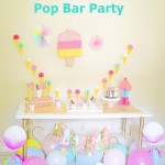 Ice Cream Pop Bar Party