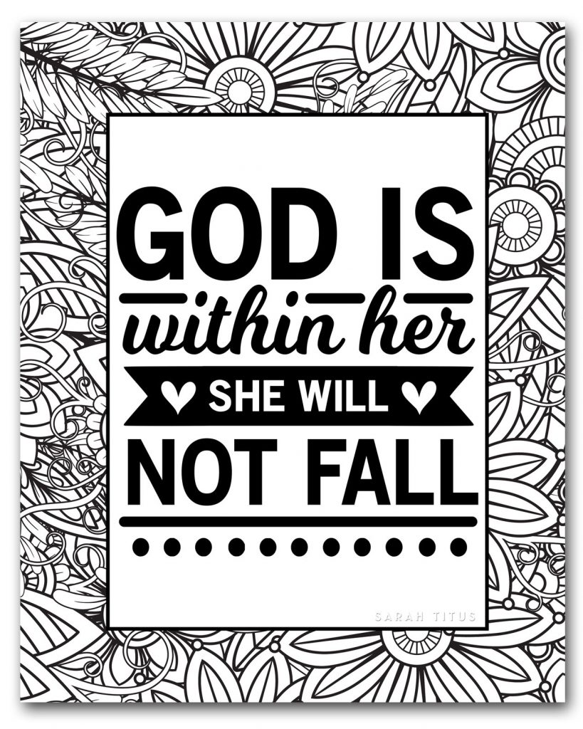 christian free coloring printables