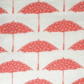 Bird Brolly in Coral