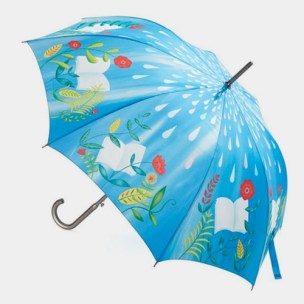 Barnes & Noble - Illustrated Garden Umbrella