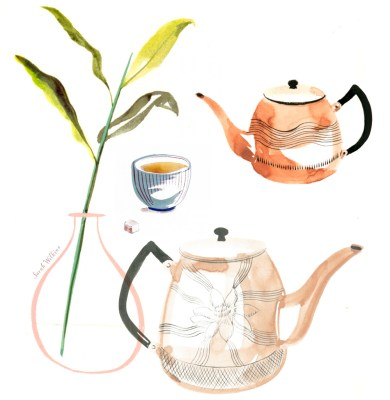 Sarah_Wilkins_illustration_illustrator_tea_time_watercolor