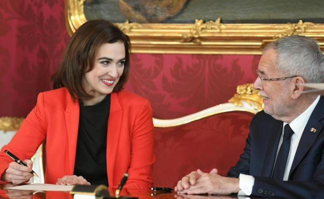 Bosnian Alma Zadic Is Officially Austrian Minister Of