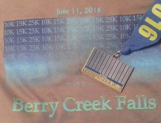 Berry Creeek Falls Race