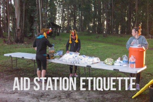 Aid Station Etiquette
