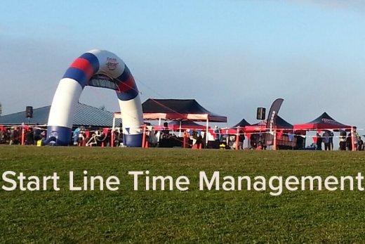 Race Start Line Time Management