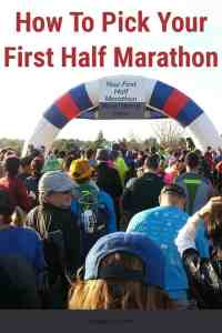 Picking your first half marathon