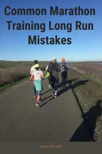 Marathon Training Long Run Mistakes
