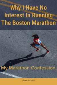 Solo female runner