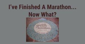 finished a marathon