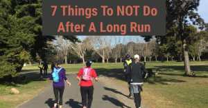 Dont Do After A Long Run