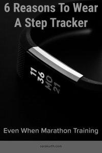 Fitbit step tracker