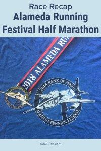 alameda half marathon medal