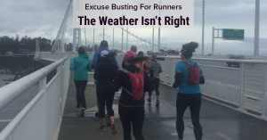running excuses bad weather