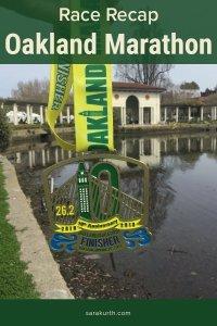 Oakland Marathon 2019 Recap