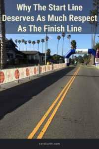 Celebrate the start line
