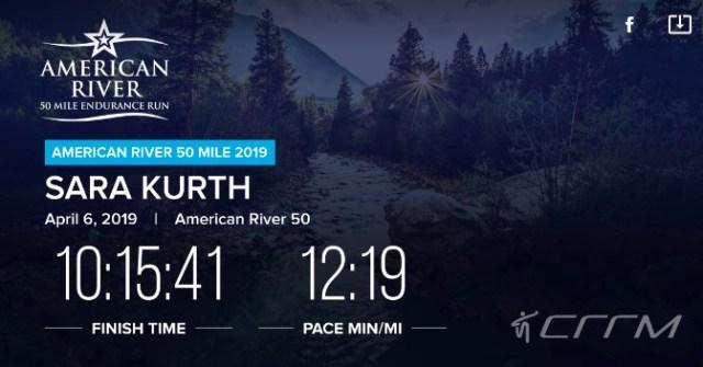 American River 50