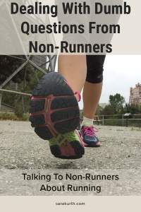 Talking To Non-runners